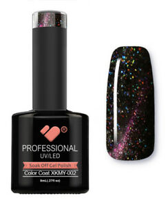 XKMY-002-VB-Line-Starry-Cat-Eye-Black-Red-UV-LED-soak-off-gel-nail-polish