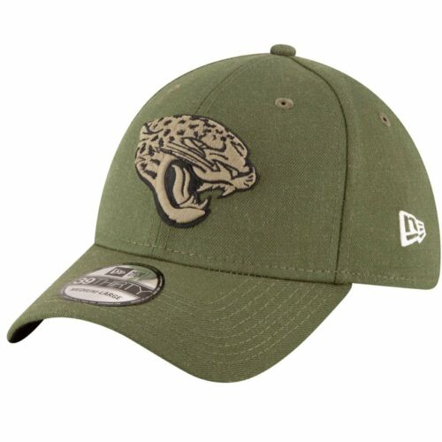 New Era 39Thirty Cap Salute to Service Jacksonville Jaguars