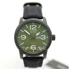 Citizen BM8475-00X Eco-Drive Military Green Dial Canvas Solar Analog Men's Watch