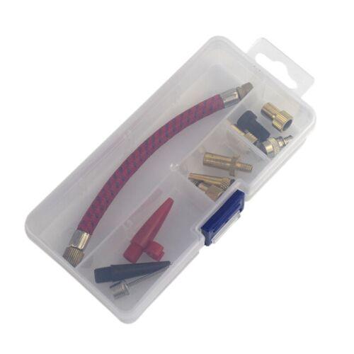 1X 12 Teile // Satz Luftmatratze Pumpenschlauch Adapter DüSenventil Luftschl 6I7