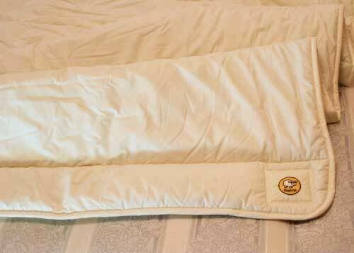 Baavet 100% Pure Wool Luxury Mattress Topper Single Hypo Allergenic