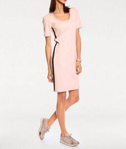 Rick Cardona Designer Etuikleid hellblau Gr 36 bis 46  Kleid Casual Sommerkleid