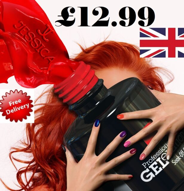 Jessica Geleration  UV Gel Polish  Classic Colours - ALL NEW  Colours Available