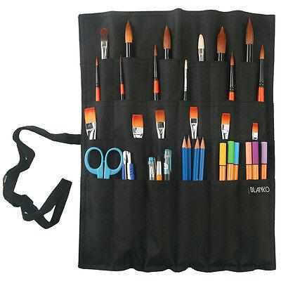 [D-Art] BLANKO Artist Roll Brush Case / Black