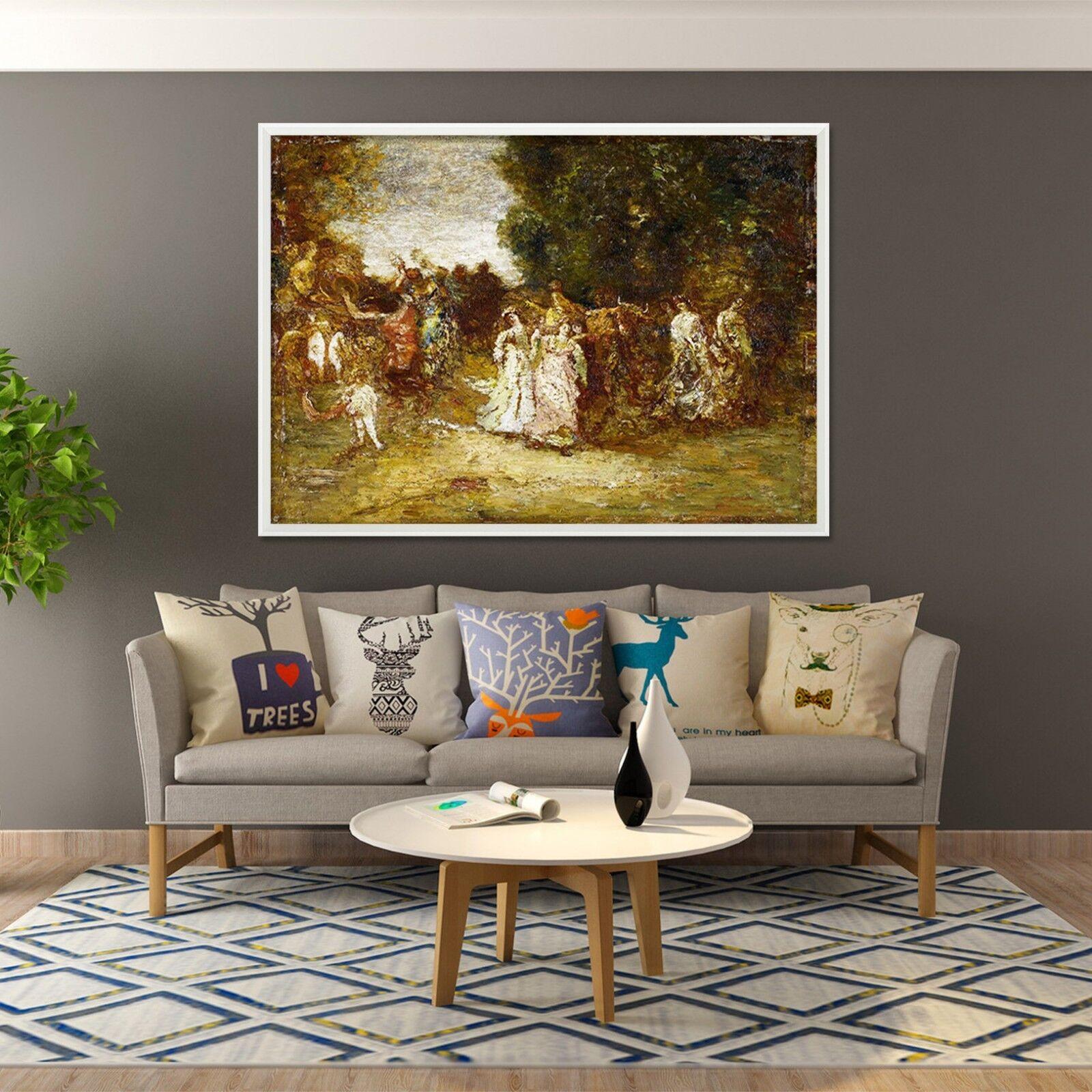 3D Europe Noble Painting 2 Framed Poster Home Decor Print Painting Art WALLPAPER