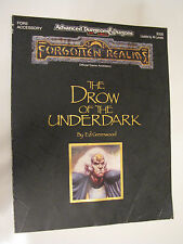 Dungeons and Dragons Forgotten Realms The Drow of the Underdark 9326