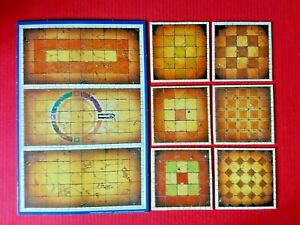 Advanced-Heroquest-Dungeons-amp-Rooms-MB-Board-Spares-Bundle