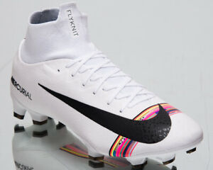 more photos 73c53 550a3 Image is loading Nike-Mercurial-Superfly-VI-Pro-CR7-FG-New-