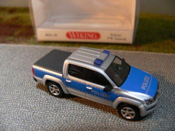 Wiking 031106 Polizei H0 VW Amarok 1:87
