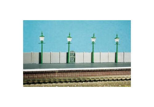 Station/Street Lamps (4 per pack) - N gauge Ratio 213 Free Post F1