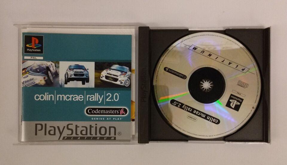 Colin McRae rally 2.0, PS, racing