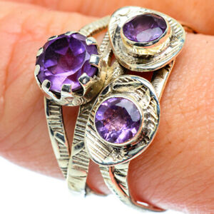 Amethyst-925-Sterling-Silver-Ring-Size-9-75-Ana-Co-Jewelry-R38602F