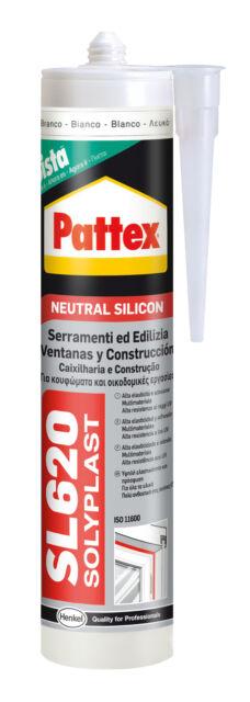 Pattex Silicona Neutro SL620 Para Metal de Hoja Marco de Ventanas Cobre 300 ML