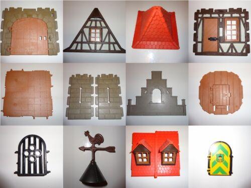 Playmobil Ritterburg Truss Maison-pièces détachées du mur de 3666 3667 3888 3665 3450