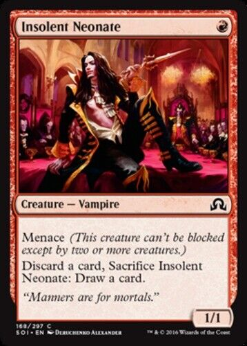 4x Insolent Neonate NM-Mint English Shadows Over Innistrad MTG Magic