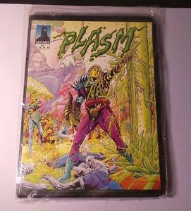 1993-Defiant-Comics-Plasm-0-Second-Edition-Comic-Card-Set-Sealed-MINT
