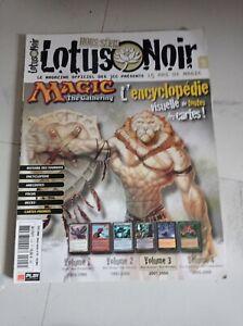 Magic the gathering encyclopédie lotus noir HS 15 -  Volume 3