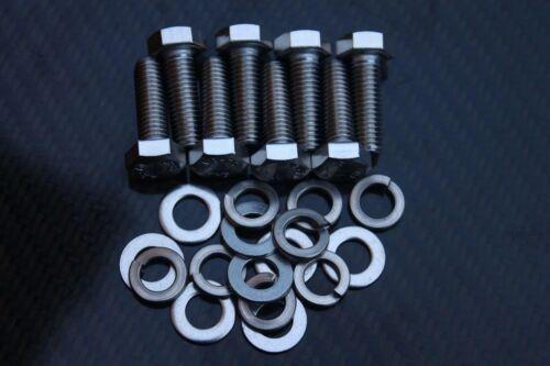 Pinto engine mount Bolt Set MK1 /& MK2 Escort RS2000 Capri Cortina Inoxydable
