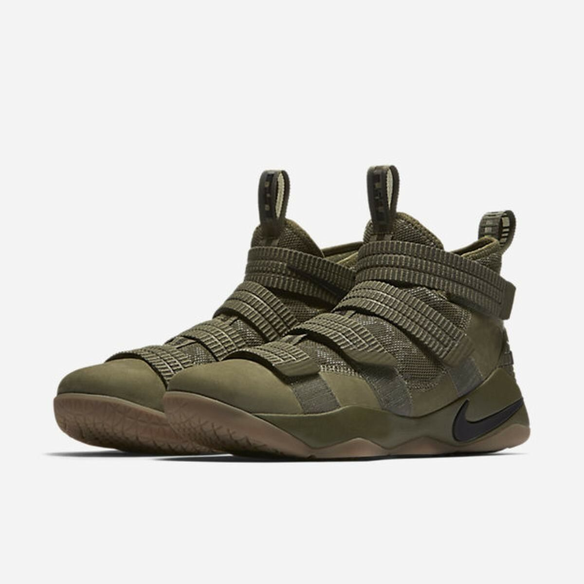 Lebron Soldier XI SFG MediumOlive/Black-Black Price reduction US) Cheap and beautiful fashion