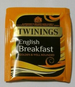 Details About Twinings English Breakfast Tea Bags Individually Wred