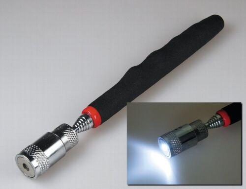 Magnetgreifer Magnetstab Magnetheber Magnet bis 3250g mit LED Beleuchtung