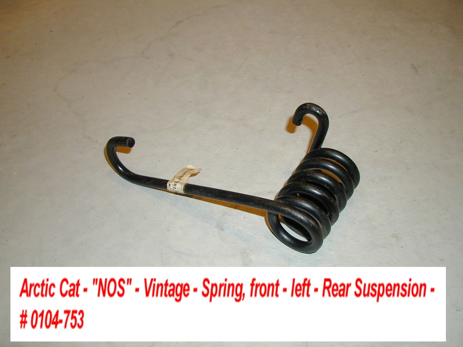 Arctic Cat Rear Suspension Spring NOS '76 Cross Country Cat