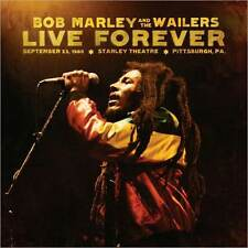 BOB MARLEY LIVE FOREVER: SUPER DELUXE EDITION 2CDs + 3VINYL + HARDCOVER BOOK SET