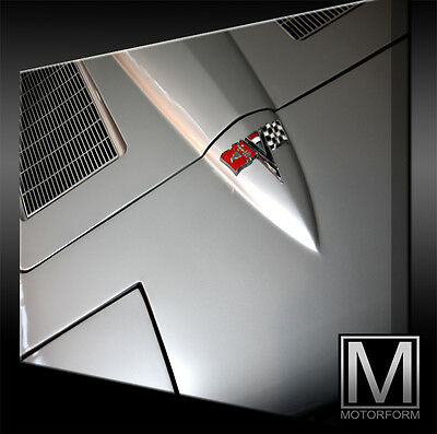 Poster & Bilder WohltäTig Chevrolet Corvette C2 Stingray Bild Canvas Art Kunstdruck Echtes Leinwandbild