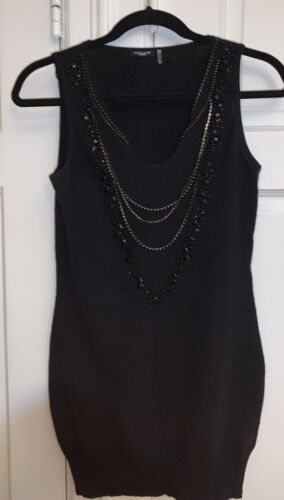 MAGASCHONI CASHMERE  XS  Tunic Mini Dress Worn Onc