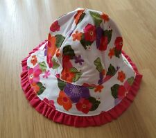 Gymboree baby girls with flowers sunhat 0 - 12 months bnwt
