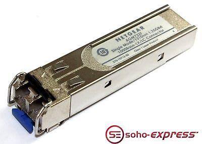 GENUINE ORIGINAL Netgear 1000BASE-SX//LC SFP TRANSCEIVER AGM732F 1310nm 1.25GBd