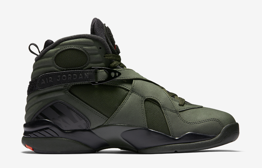 huge selection of bf6f6 68078 305381 2017 Nike Air Jordan 8 VIII Take Take Take Flight Olive Undefeated  Size 9.