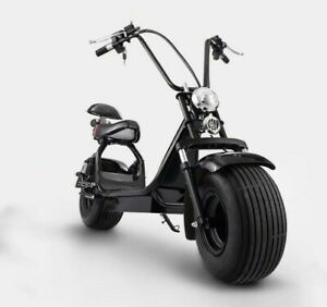 2000W-Big-Tire-Electric-Scooter-18-034-Tire-Front-amp-Rear-Suspension-60V-Lithium