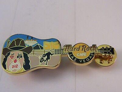 Hard Rock Cafe Las Vegas 2005 Rodeo Clown Guitar Le 300