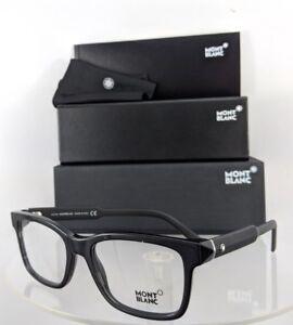 9bb5731969 New Authentic MONT Blanc Eyeglasses MB 680 001 Black Frame 54mm 0680 ...