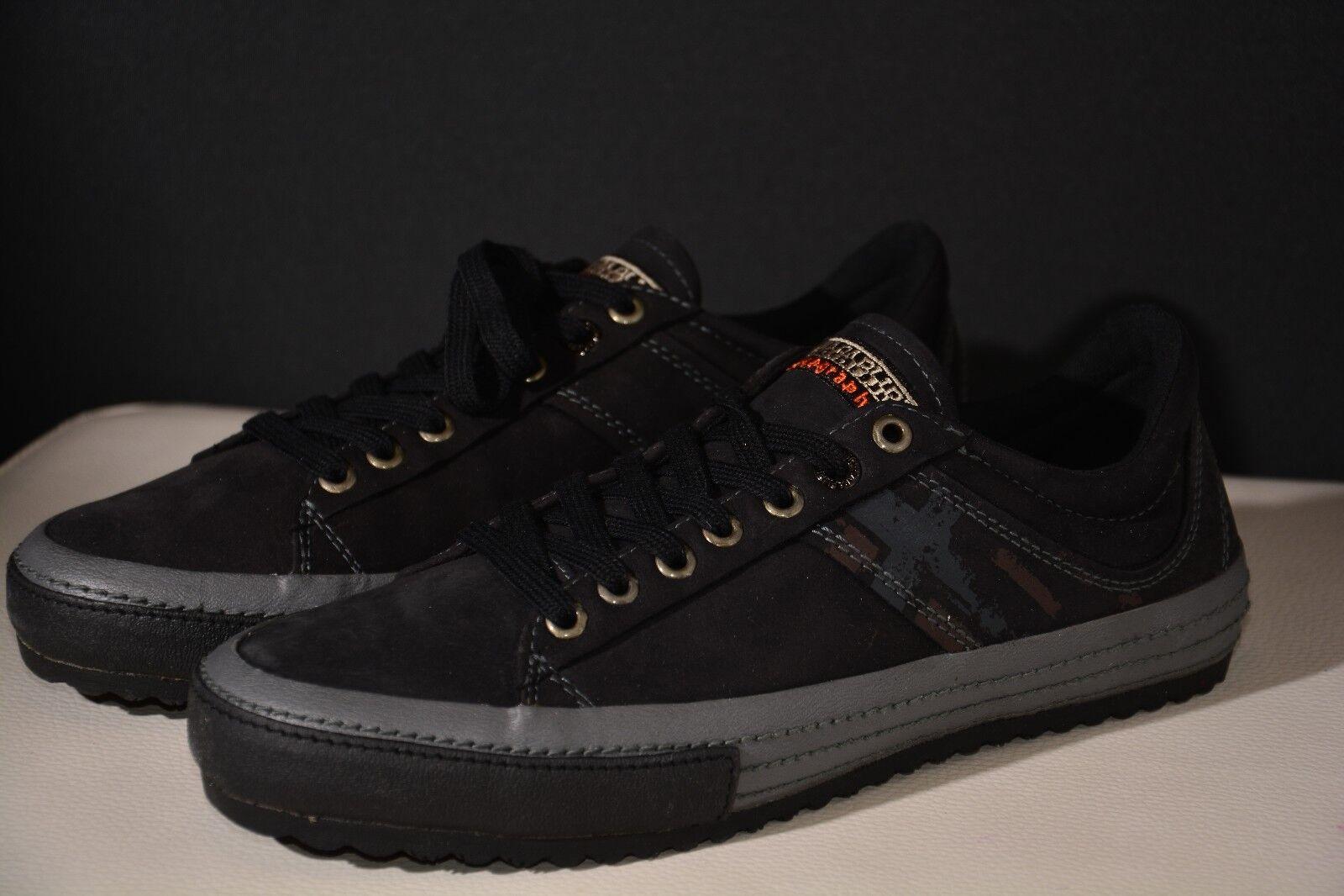 Napapijri Schuhe gr.40 in gr.40 Schuhe Leder schwarz neu! b226c1