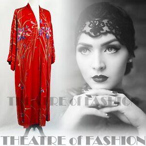 Cappotto 20s 30s Giacca Gatsby Da Seta Sposa Kimono Abito Vintage rexdCBoWQ