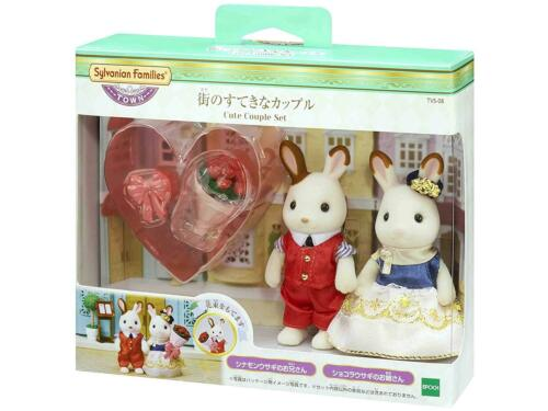 Sylvanian Families CUTE COUPLE SET TVS-08 Town Series Epoch Calico Critters