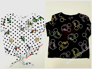 PRIMARK-WOMEN-039-S-LADIES-DISNEY-CHARACTER-CASUAL-TOP-SHORT-SLEEVE-T-SHIRT
