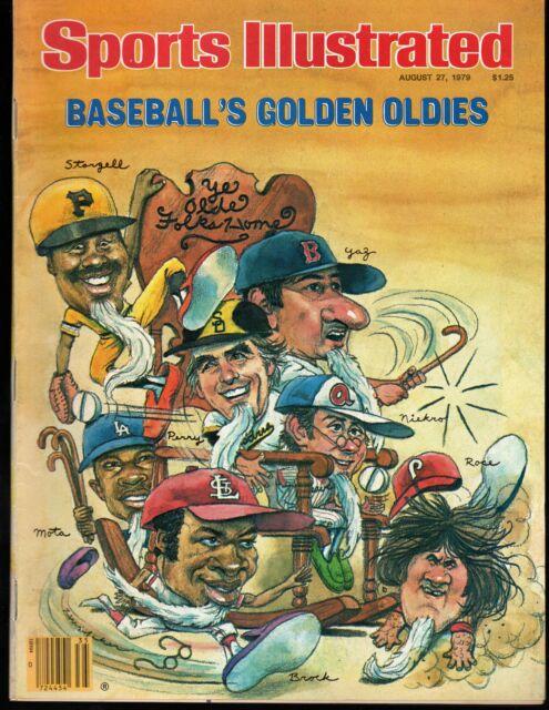 Sports Illustrated 1979 Willie Stargell Carl Yastrzemski Pete Rose Lou Brock Exc