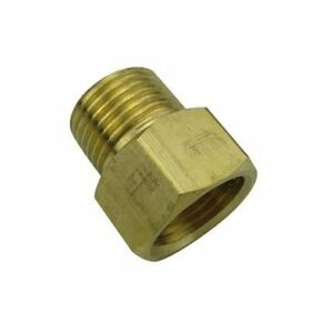 Pipe 1//8 NPT Male to M12 M12X1 Male Metric Adapter Fitting Oil Fuel Air