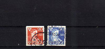 europa:8936 Schweden Europa Intellektuell Schweden Michelnummer 314-315 A Gestempelt