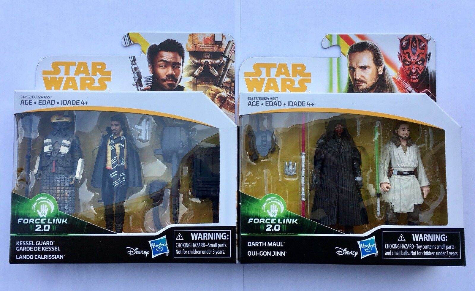 STAR WARS Solo Force Link Kessel Guard Lando Calrissian Darth Maul Qui-Gon Jinn