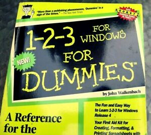 1-2-3-for-Windows-5-for-Dummies-by-John-Walkenbach-computer-book-for-beginners