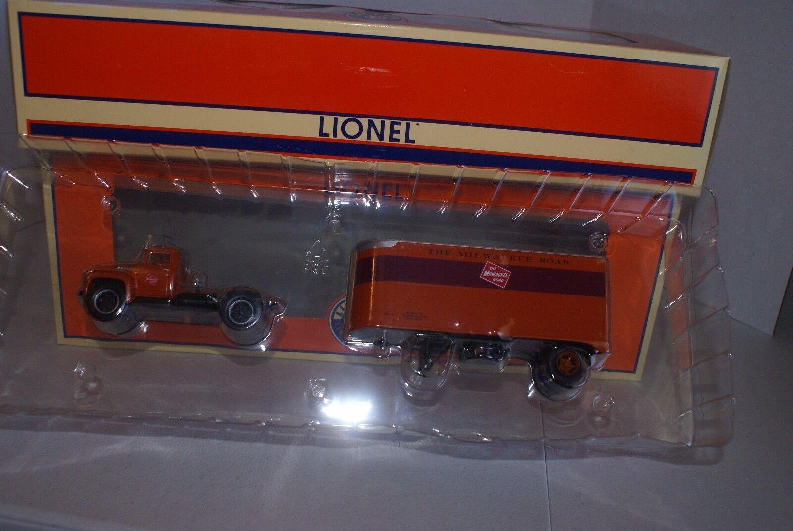 Lionel 6-81902 Milwaukee Road Remolque de tractor y 20'  Envío Gratis