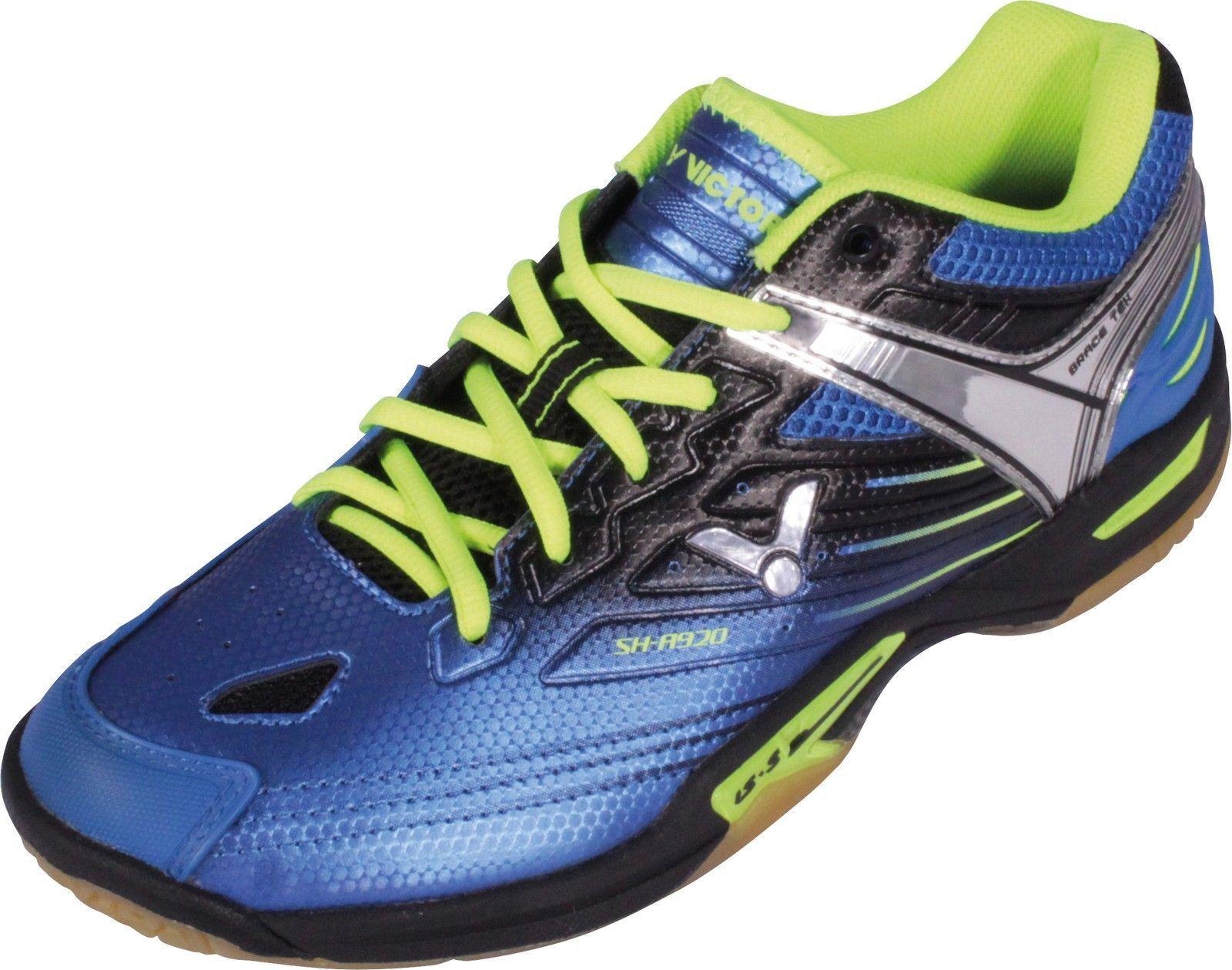 Victor SH-A920 Blau   Schuh Badminton Tischtennis Squash