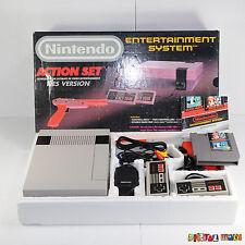 NES Console Bundle Action Set BOXED VGC NEW 72 PIN - Entertainment System - PAL