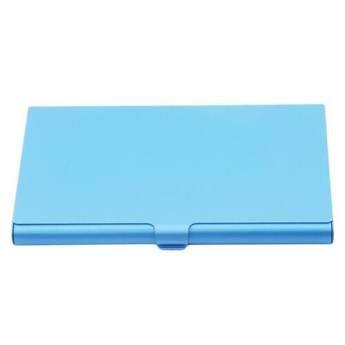 Men Women Aluminum IDCredit Card Wallet Holder Slim Pocket Case Box CB