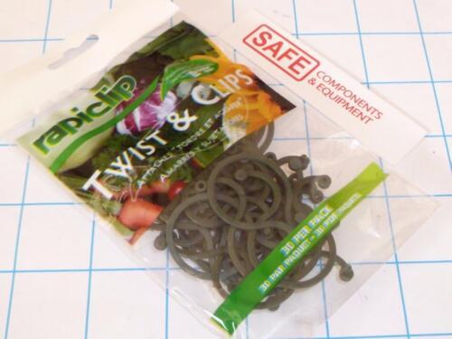 rapiclip Luster Leaf Twist /& Clip Plant Holder Tomato Veg/'s 30-Pack 816 MM-142