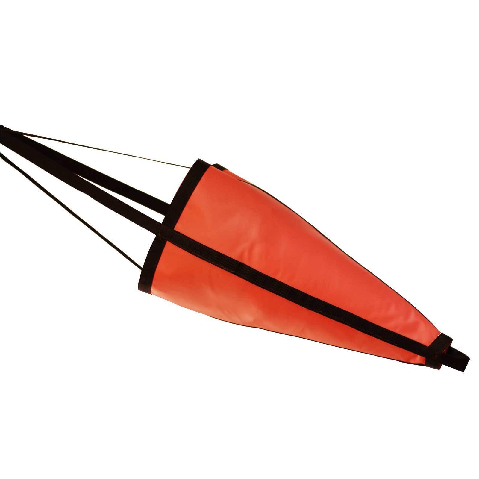 Sea Anchor Drogue 1500X2200 (orange) upto 9metre boat